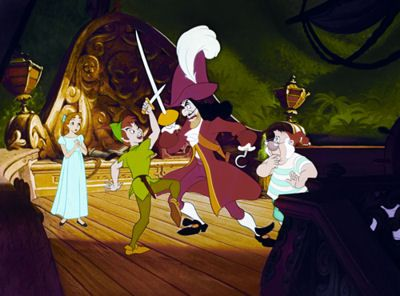 Peter Pan vs Captain Hook | Peter Pan Vs Captain Hook - what is seen cannot be unseen