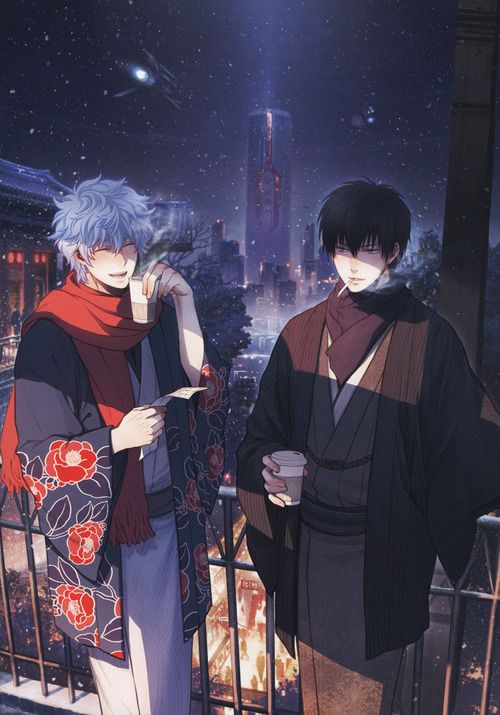 Gitoki & Hijikata || this is a scan from some dj unfortunately unknown to me