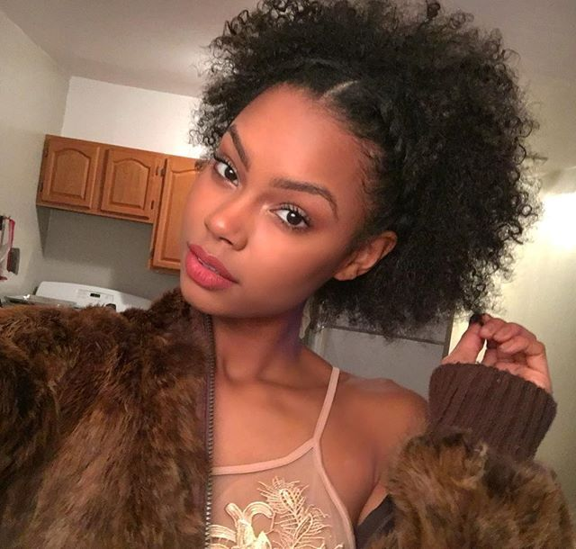 183 best Medium Natural Hairstyles images on Pinterest | African ...