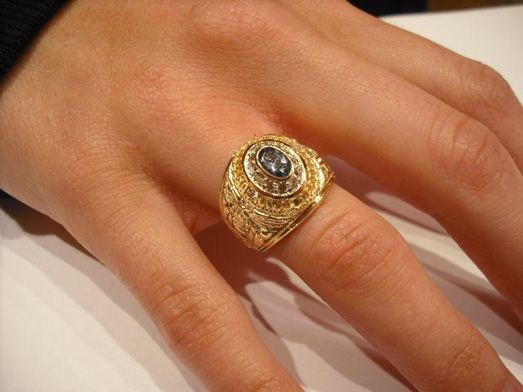 Naval Academy Miniature Class Rings