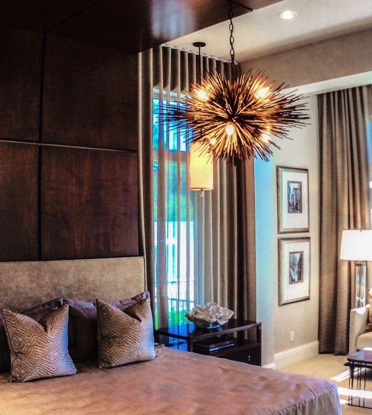 A dreamy bedroom design by Beasley & Henley Interior Design. Naples, FL