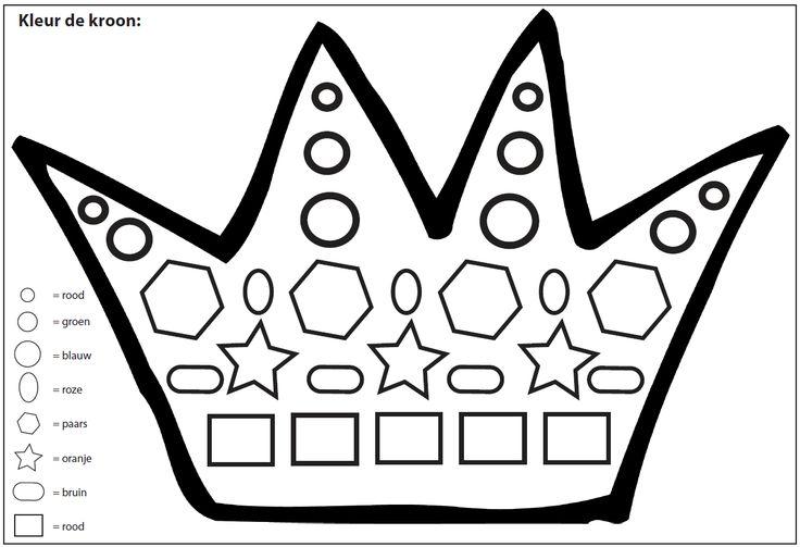 Kleur de kroon [Juf Marije]