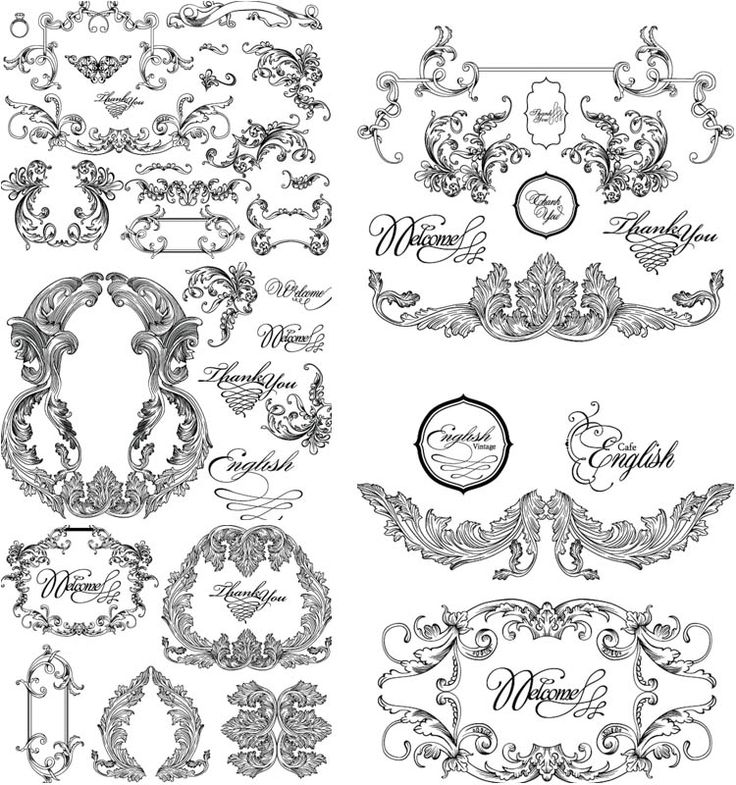613 best digital freebies images on pinterest birthdays vintage baroque frames vector stopboris Choice Image