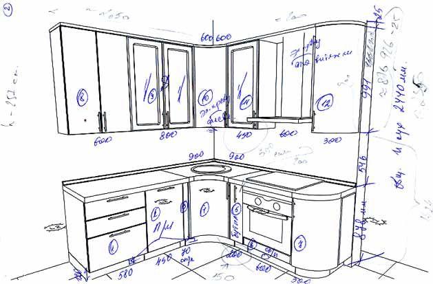 кухонная мебель В АВТОКАДЕ - Поиск в Google