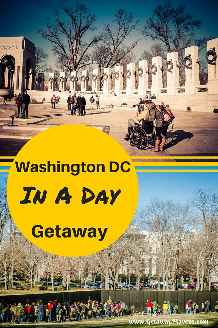 Washington DC in a Day - National Mall walking tour with best hotel, restaurant, and nightlife recommendations.
