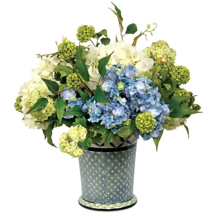 Best images about hydrangea arrangement on pinterest