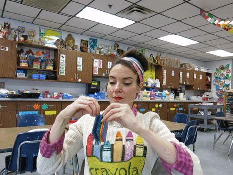 elementary art teacher