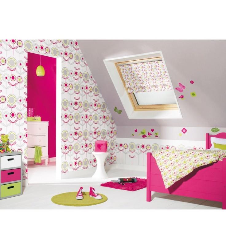 Papel pintado caselio miss zoe 54064207 papeles para - Papel pintado para decorar paredes ...