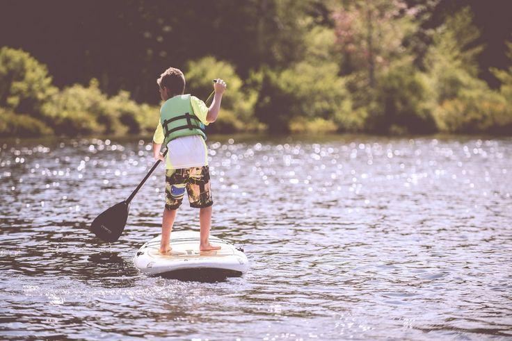 Boating at the East Hamilton Lake