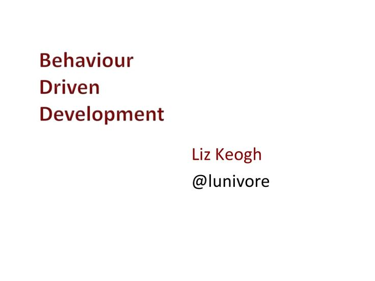 "Annotated slides from my ""Behavior Driven Development"" course. Released under Creative Commons share-alike, commercial and derivatives allowed: http://creative…"