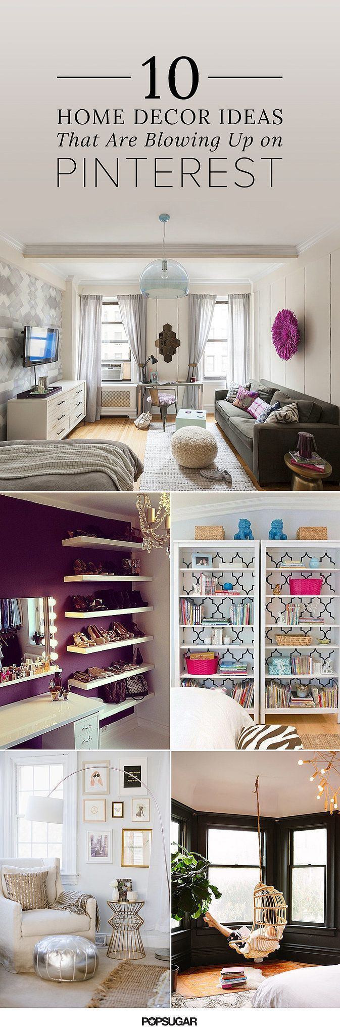 Home decorating trends blowing up on Pinterest