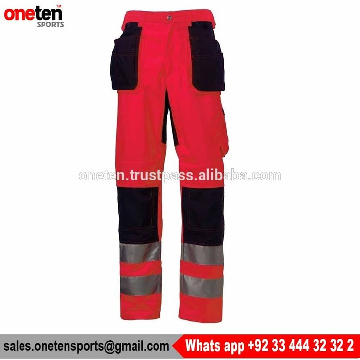 New Design Safety Latest Hi Vis Trouser - Workwear