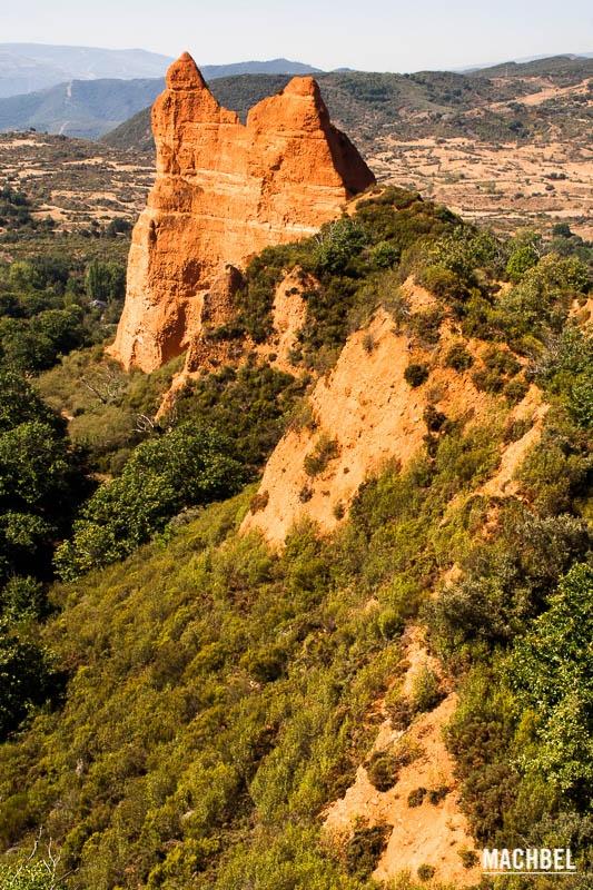 Cresta en Las Médulas Las Médulas mina romana Patrimonio de la Humanidad en Ponferrada Castilla y León España Las Médulas, las minas de oro del Bierzo  #CastillayLeon #Spain