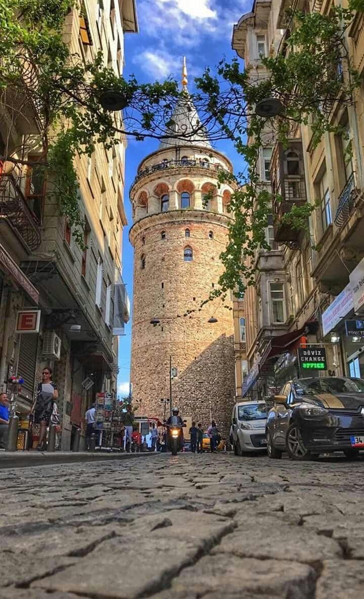 Galata Tower - Istanbul Pinterest : @hackerderler