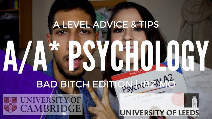A/A* PSYCHOLOGY A LEVEL ADVICE & TIPS (BAD BITCH EDITION) | IBZ MO