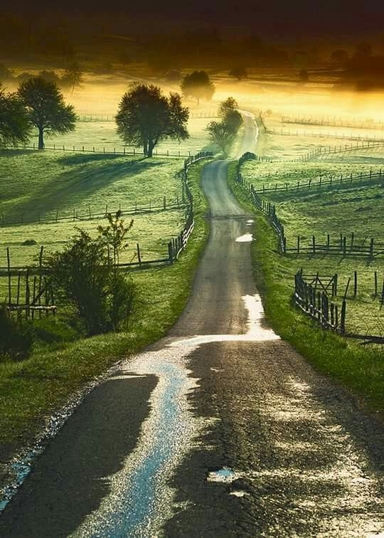The road that leads to ...