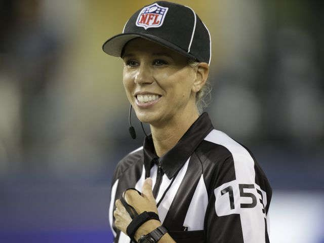 Trailblazer Sarah Thomas may be first of many female NFL officials