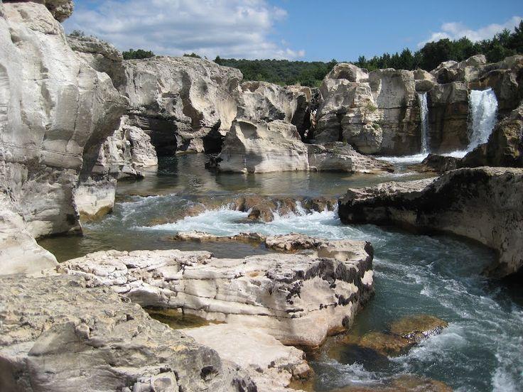 La Roque-sur-Cèze, Bagnols-sur-Cèze, Nîmes, Gard, Languedoc-Roussillon, France