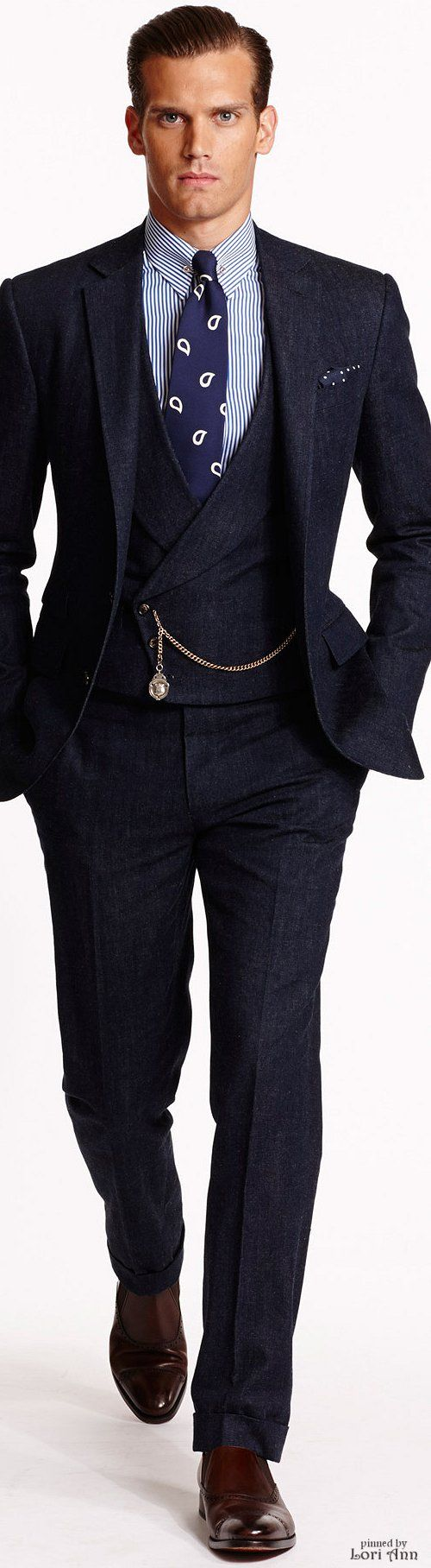 Ralph Lauren 2015   Menswear   Men's Fashion   Men's Outfit for Spring/Summer   Sharp and Sophisticated   Moda Masculina   Shop at designerclothingfans.com