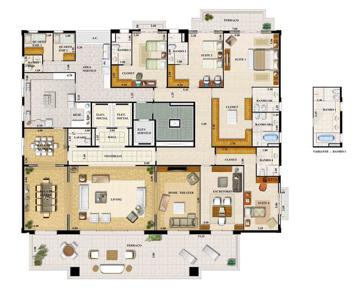 cool residential house plans. Villa Florentine  498m Higien polis S o Paulo Apartment Floor PlansHome PlansHouse 1501 best Architecture images on Pinterest Apartments