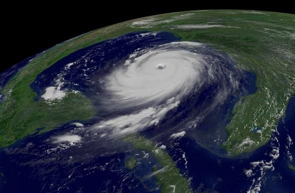 National Hurricane Preparedness Week, May 26 - June 1, 2013. Hurricane Katrina in the Gulf of Mexico from space. http://www.ready.gov