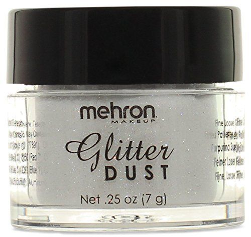 #Mehron #Makeup #Glitter #Dust #Face & #Body #Paint, #OPALESCENT WHITE- .#25oz Lightweight Finely sifted For use on #body, #face, and hair https://skincare.boutiquecloset.com/product/mehron-makeup-glitter-dust-face-body-paint-opalescent-white-25oz/