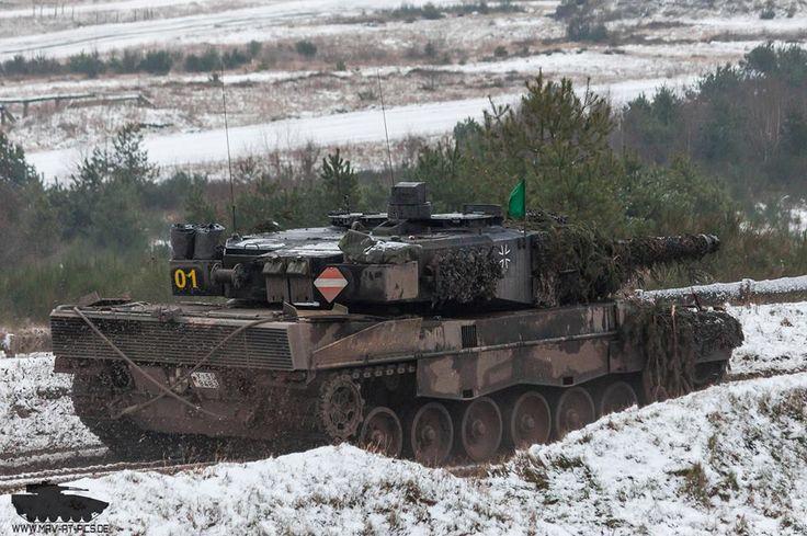 Leopard 2A6 Löwe 2015 Bundeswehr.
