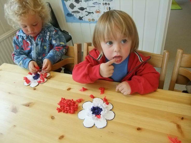 Husebøstykket barnehage / Maurstua / 17 mai forberedelser - STAVANGER