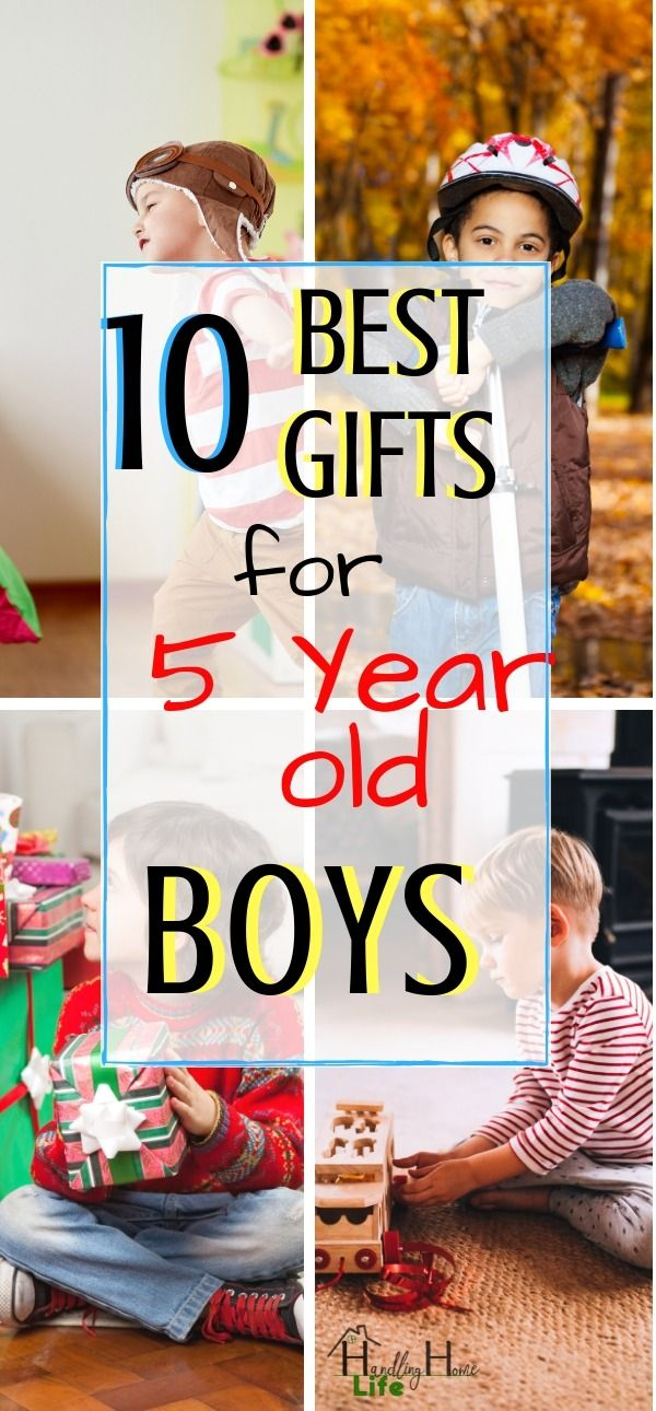 10 Best Gifts For 5 Year Old Boys They Are Sure To Love In