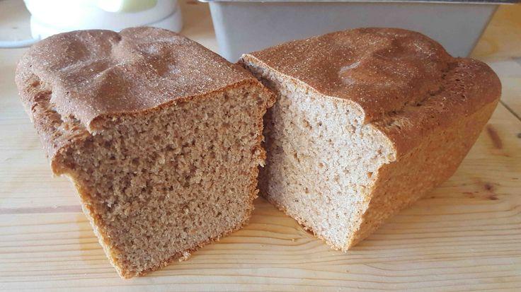 Teljes kiörlésű tönkölybúza kenyér recept: Egy nagyon egyszerű, és gyors kenyér recept, amit én teljes kiőrlésű rozs vagy teljes kiőrlésű tönkölybúzával készítettem el. :) Kiváló kenyér recept!