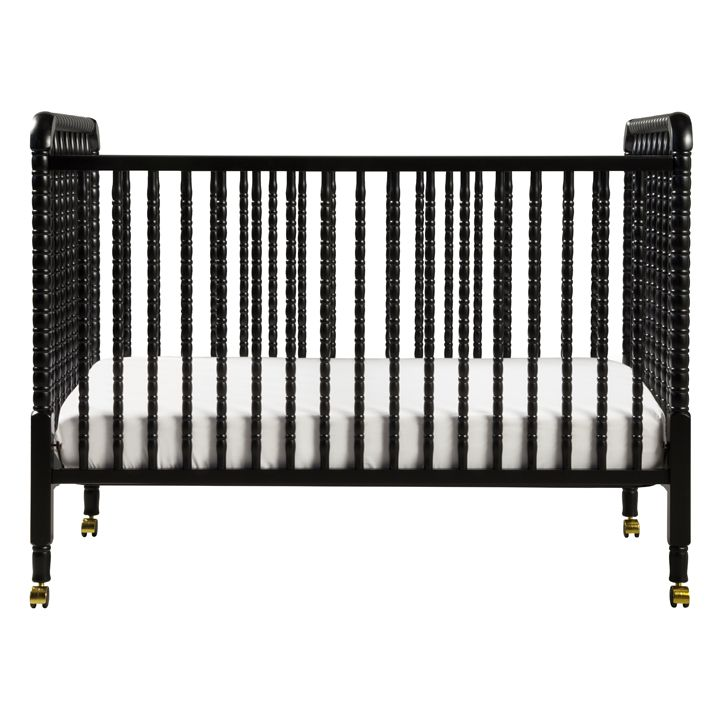 A beloved nursery favorite, DaVinci's Jenny Lind Crib features intricate detailing and signature spindle posts. Loved for its timeless elegance, Jenny Lind graces your nursery with a unique charm and