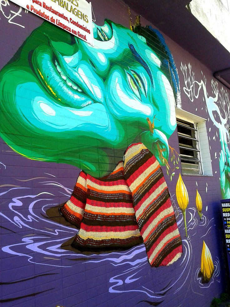 crochê e grafite
