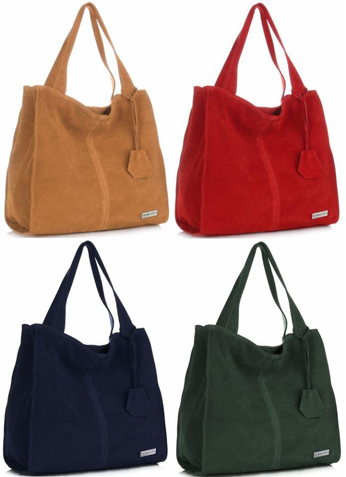 NOVINKA! Prostorné semišové tašky od Vittorie Gotti okouzlí tvarem a hypnotizují barvami. Vyberte si svou oblíbenou a doplňte ji do vaší sbírky! Rudá➡ http://bit.ly/2B9uLhr Červená➡ http://bit.ly/2AYnD36 Tmavě modrá➡ http://bit.ly/2yTe57Q Zelená➡ http://bit.ly/2BwZ7Y7