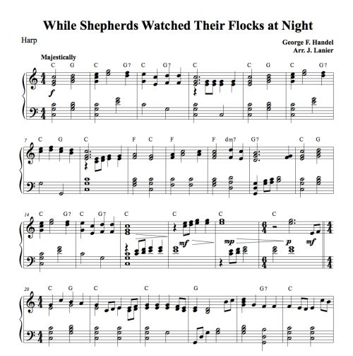 45 Best Sheet Music And Tabs Of Epicness Images On: 7 Best Harp Sheet Music Images On Pinterest