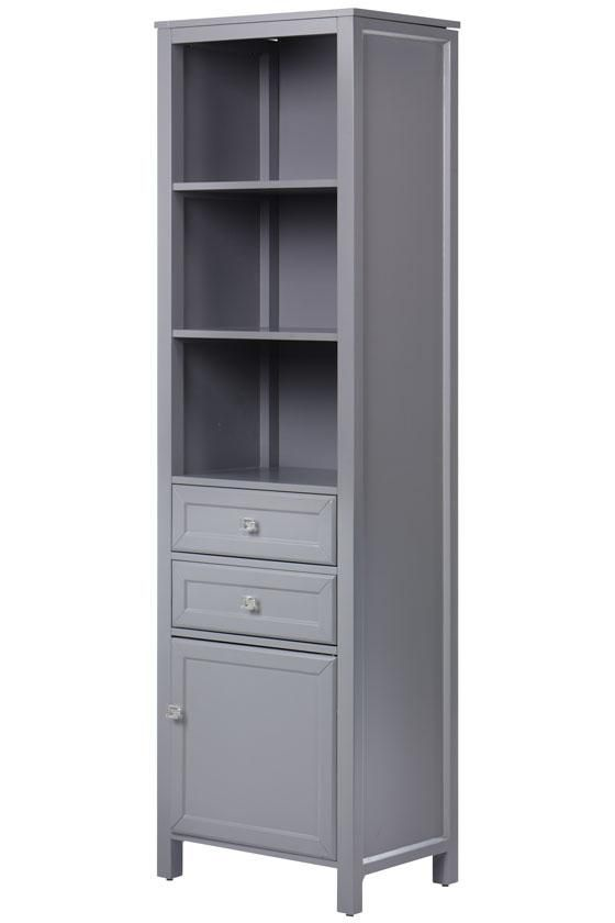 Hayley Linen Storage Cabinet   Linen Cabinets   Bath | HomeDecorators.com