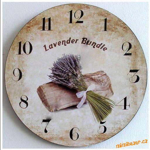 Lavender clock