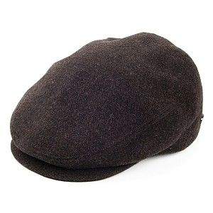 Bailey Hats Lord Flat Cap - Brown from Village Hats.