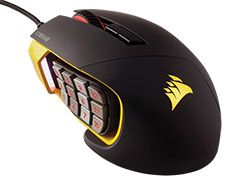 Corsair Gaming Scimitar RGB Optical MOBA/MMO Gaming Mouse available to buy online from PC Case Gear – Australia's Premier Online PC Store.