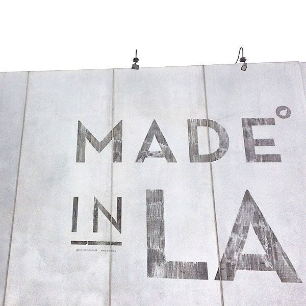 Made In L.A. Mural Don't worry: We won't tell anyone you weren't actually born here.Cisco Home, 8025 Melrose Avenue (at North Laurel Avenue); 323-932-1155.