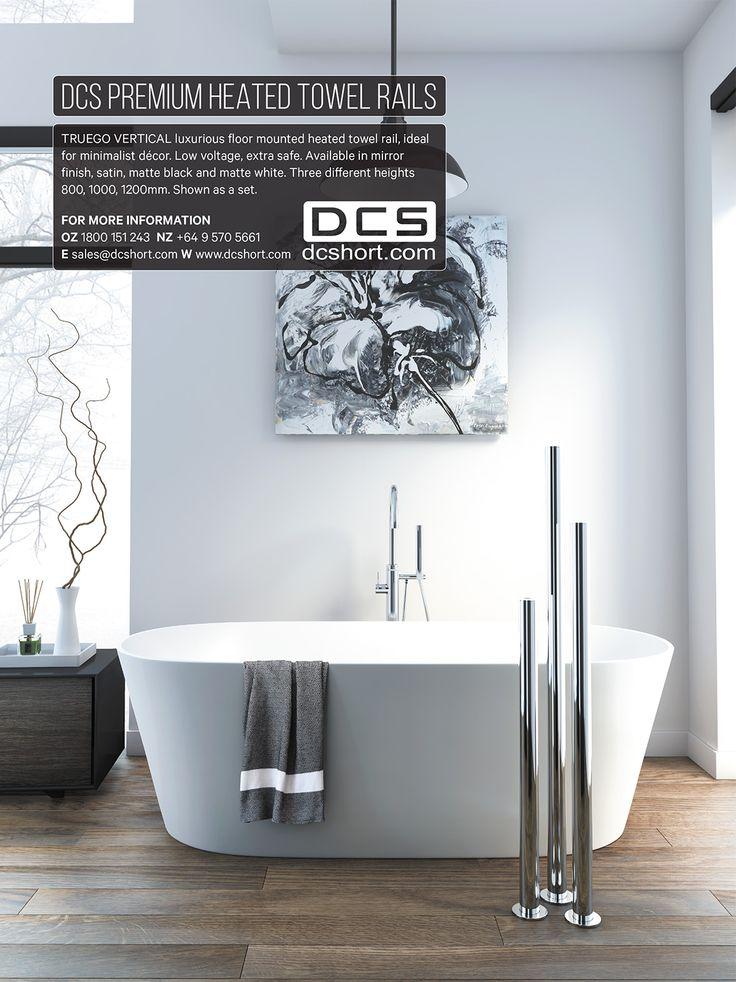 ArchitectureNZ - DCS Heated Towel Rails