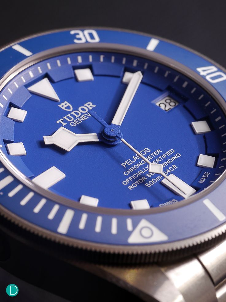 Tudor releases a blue model to the popular Pelagos diver's collection.Made popular during the 60s and 70s, Tudor's divers' watch is closely tied to its intensive use by underwater professionals, particularly by world's major navies. The brand's diving collectionare authentictool ... Read More