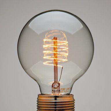 beautiful filament bulb