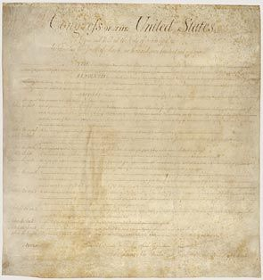 The Bill of Rights. Just in case you need a reminder on what your rights are ...