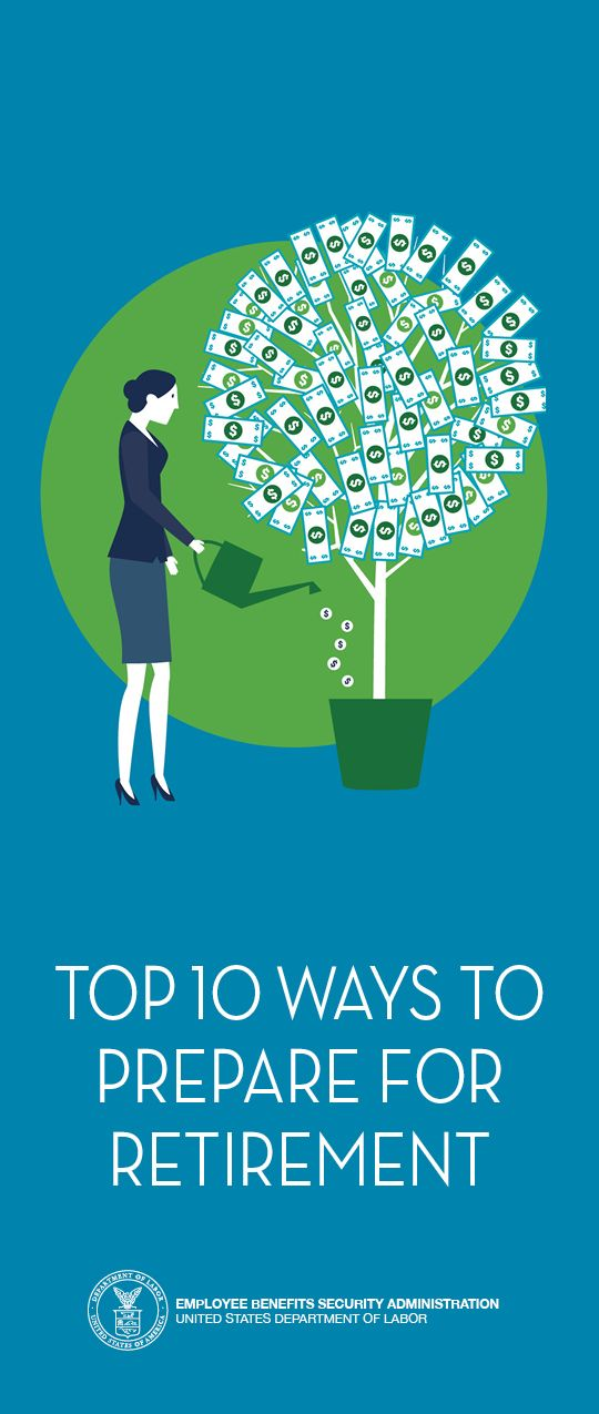 Pictured: Top 10 Ways To Prepare For Retirement.  To order copies call 866-444-3272.