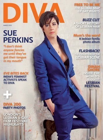 Hahaha! So true, wait does this mean you like me!?!  DIVA March 2013 - Sue Perkins