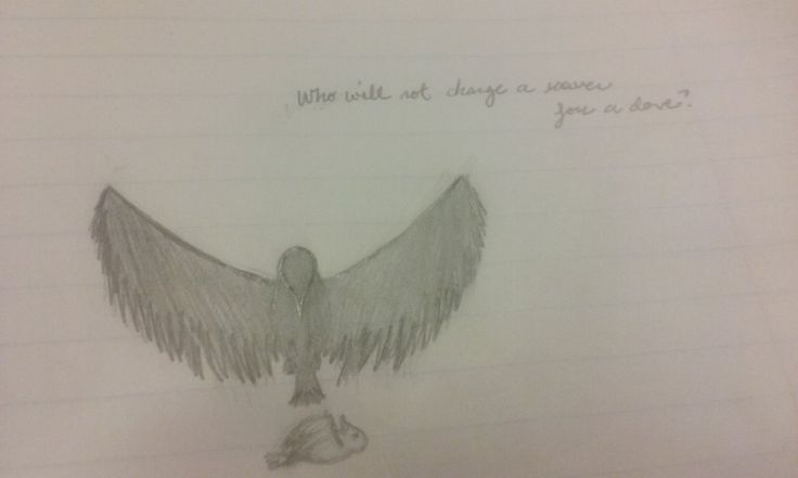 Who will not change a raven for a dove? by crazycats161616.deviantart.com on @DeviantArt