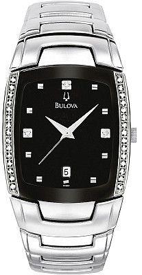 Bulova Men's Diamond Watch 96E02