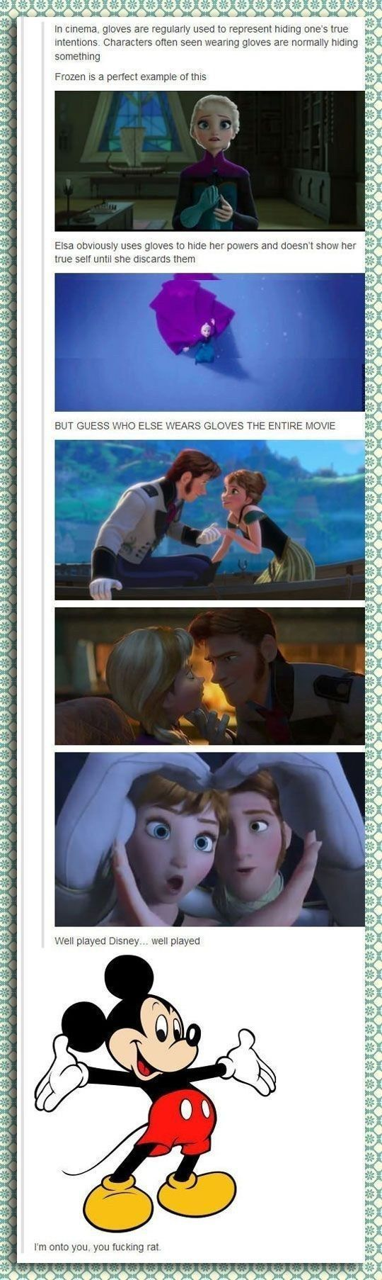 This handy discovery: | 31 Things Only True Disney Fans Will Appreciate