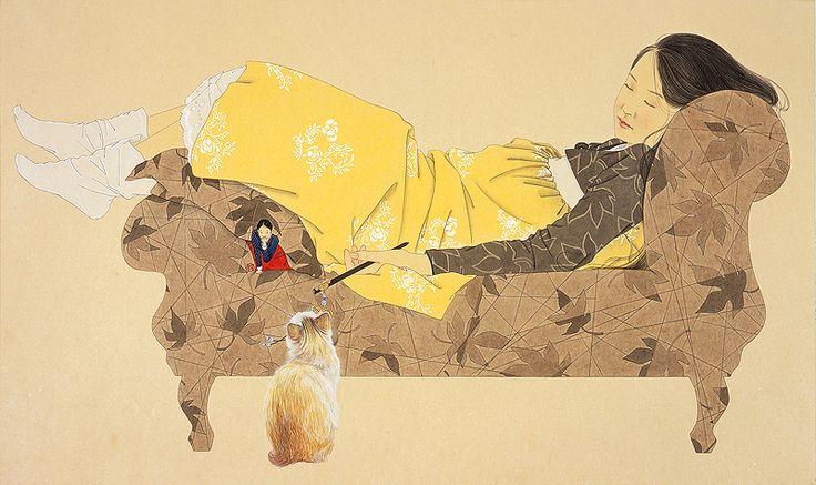 Shin Sun-Mi, While You Were Sleeping, 2008