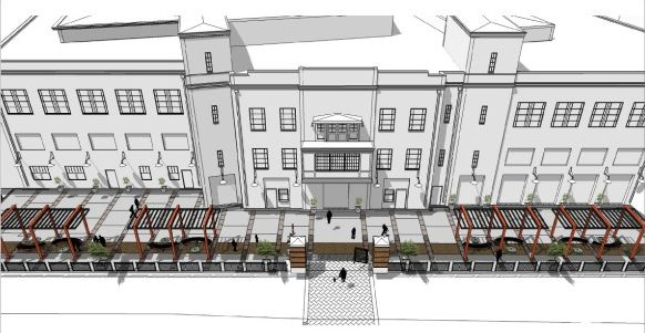 Jamestown City Officials Create Momentum for New Comedy Center Check us out at: www.clarkpattersonlee.com